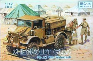 Chevrolet C15A No.11 Cab Watertank IBG Models 72016