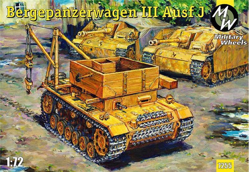 БРЭМ Bergepanzerwagen III Ausf. J Military Wheels 7255