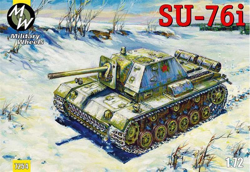 ПТ-САУ СУ-76и Military Wheels 7254