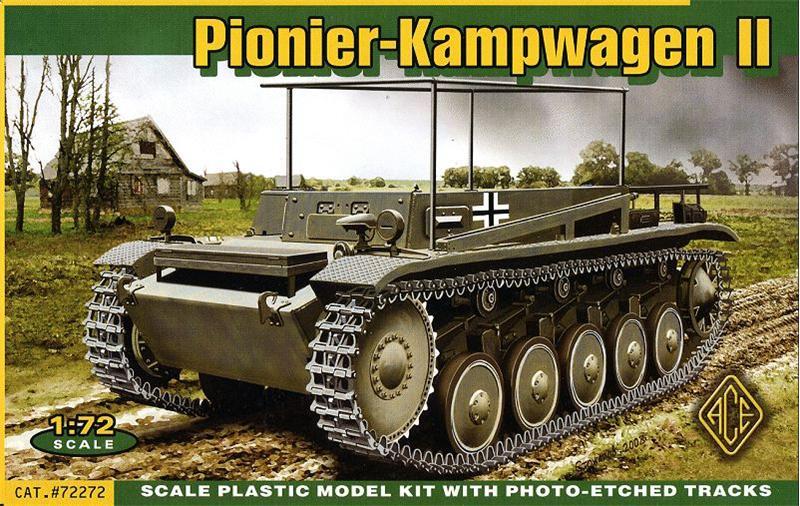 Немецкий инженерный танк Pionier Kampfwagen II Ace 72272