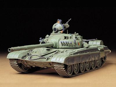 Советский танк T72M1 Tamiya 35160