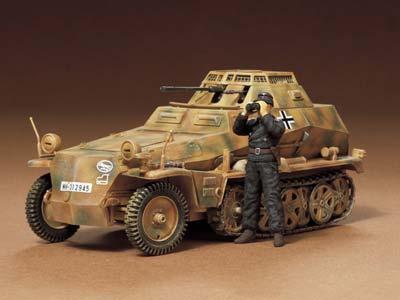 Немецкая разведывательная бронемашина Sd.Kfz.250/9 Tamiya 35115