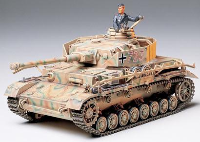 Немецкий танк Panzerkampfwagen IV Ausf.J Sd.Kfz.161 / 2 Tamiya 35181