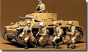 Немецкий танк Panzerkampfwagen II Ausf. F/G Tamiya 35009
