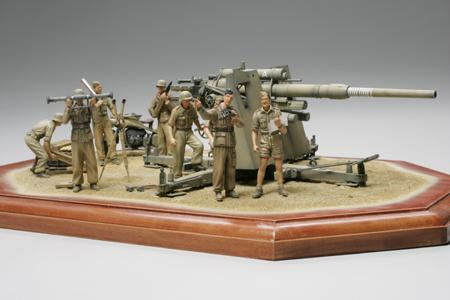 Немецкая пушка 88mm Gun Flak36 Северная африка Tamiya 35283