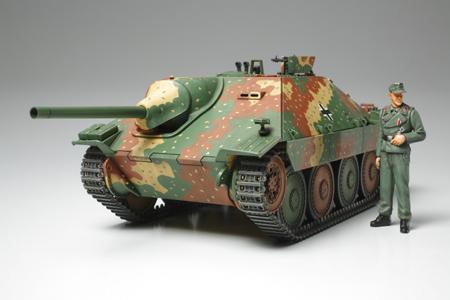 Немецкая самоходная артиллерийская установка Hetzer 38 (t) (середина производства) Tamiya 35285