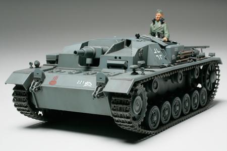 Немецкая САУ Sturmgeschutz III Ausf.B Tamiya 35281
