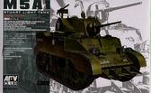 Танк M5A1 Stuart LATE TYPE