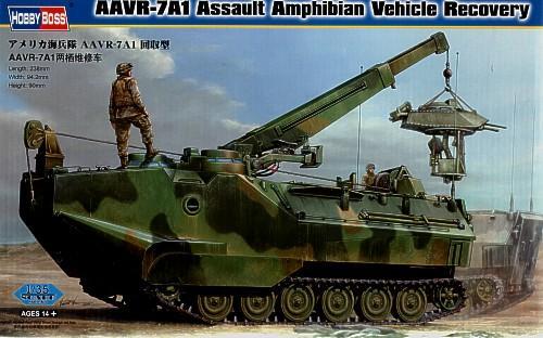 Эвакуационная машина-амфибия AAVR-7A1 Hobby Boss 82411