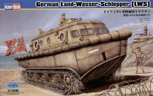 Немецкий транспортный тягач-амфибия Land-Wasser-Schlipper (LWS) Hobby Boss 82430