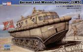 Немецкий транспортный тягач-амфибия Land-Wasser-Schlipper (LWS)