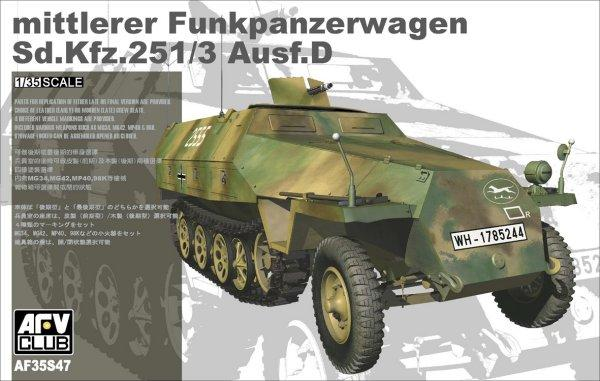 БТР Sd.Kfz 251 Ausf. D (LIMITED) Afv-Club 3547