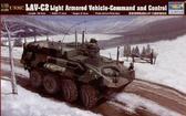 Командирский БТР Морской пехоты США LAV-C2