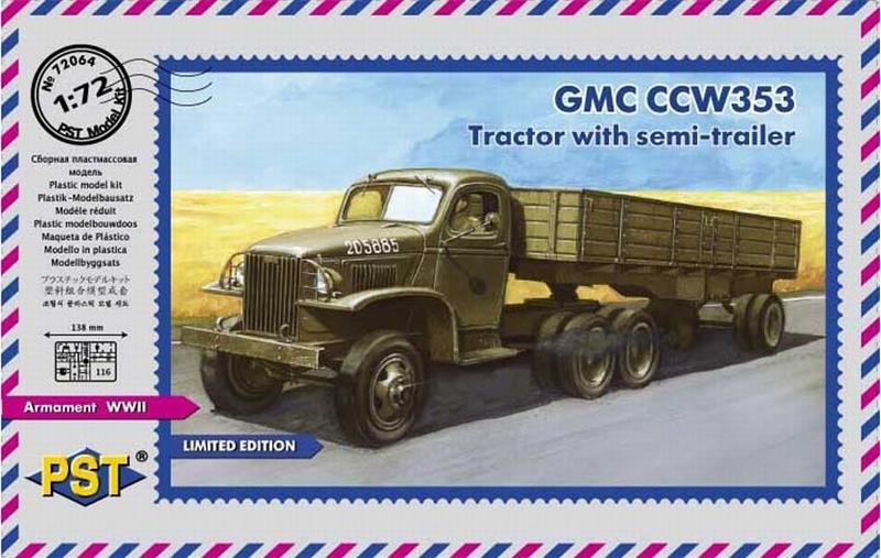 GMC CCW-353 с полуприцепом PST 72064