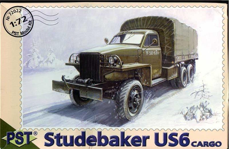 Грузовик Studebaker US6 (Студебекер, Вторая мировая война, США) PST 72022