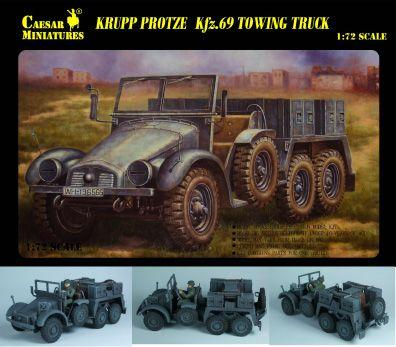 WWII Sd.Kfz.69 Towing Truck Caesar 7203