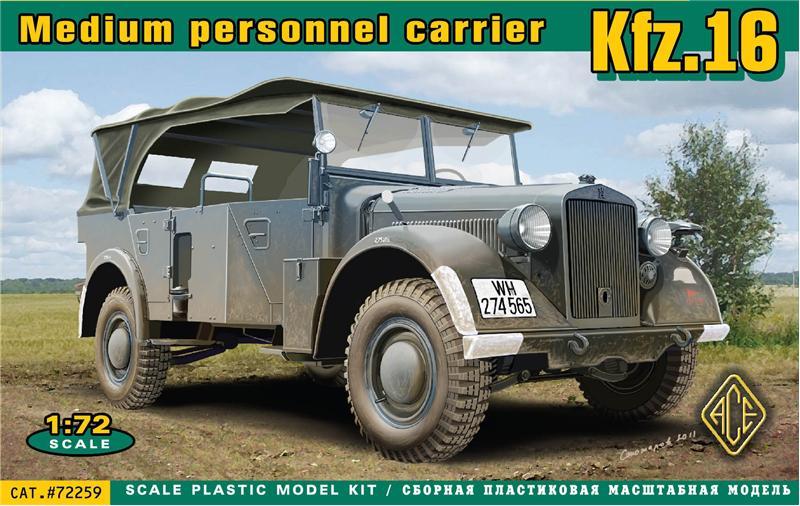 Машина связи Kfz.16 Ace 72259