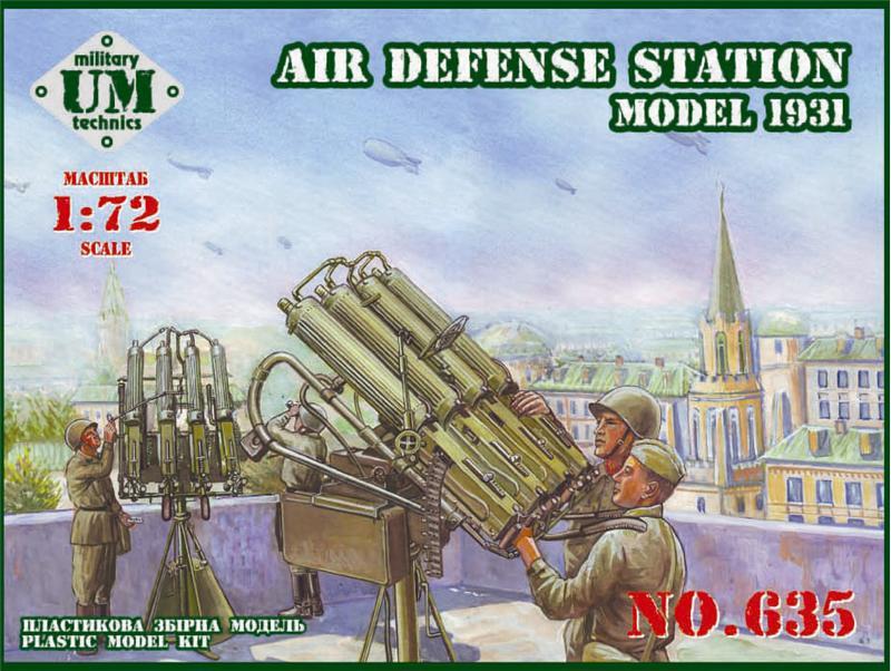 Зенитная пулеметная установка, 1931 ( 13, 9 см ) UMT 635