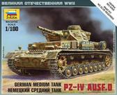 Немецкий танк Pz-4 Ausf.D