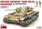 Британский пехотный танк Mk.3 Valentine (Валентайн) V с экипажем