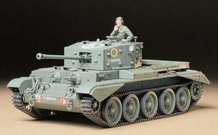 Британский танк Cromwell Mk.IV Tamiya 35221