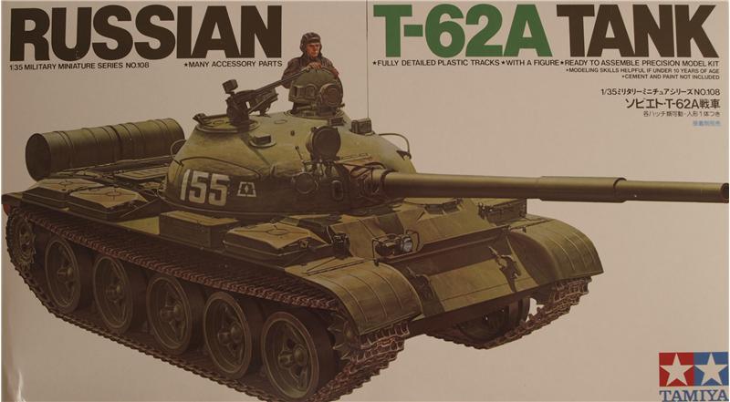 Русский танк T-62A Tamiya 35108