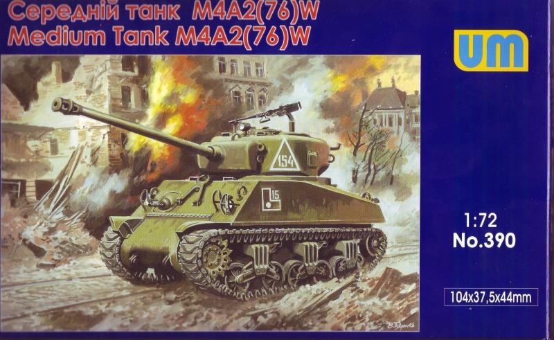 Средний танк M4A2 (76) W Unimodels 390