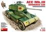 Британский бронеавтомобиль AEC Mk.III MiniArt 35159 основная фотография