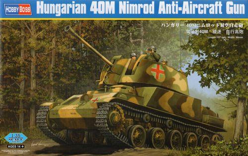 Венгерская ЗСУ 40M Nimrod Hobby Boss 83829