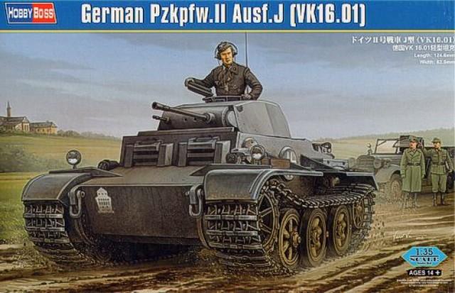Танк Pzkpfw.II Ausf.J (VK1601) Hobby Boss 83803