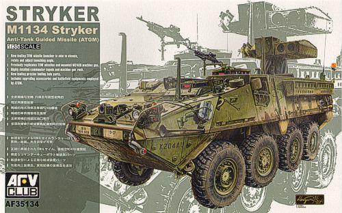 Бронеавтомобиль «Страйкер» M1134 Afv-Club 35134
