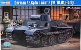 Немецкий легкий танк Pzkpfw.I Ausf.F (VK1801), ранняя версия