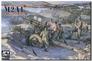 Американская полевая 105mm гаубица M2A1 Carriage M2A2 Afv-Club 35182 основная фотография