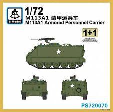 Бронетранспортер M113A1 (2 модели в наборе) S-model 720070