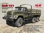 Советский армейский грузовой автомобиль ЗиЛ-131 ( 20,1 см ) ICM 35515 основная фотография