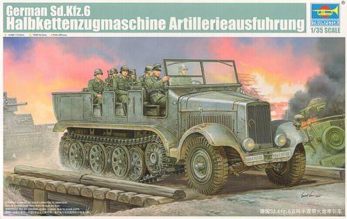 Немецкий артилерийский тягач Sd.Kfz.6 Trumpeter 05531