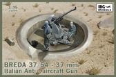 37-миллиметровое зенитное артиллерийское орудие Breda