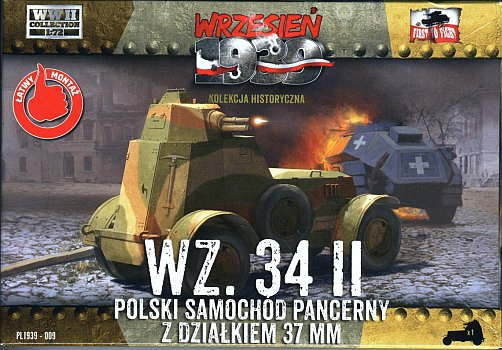 Польский бронеавтомобиль WZ.34 II First To Fight 009