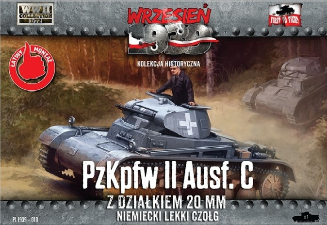 Танк PzKpfw II Ausf.C First To Fight 010