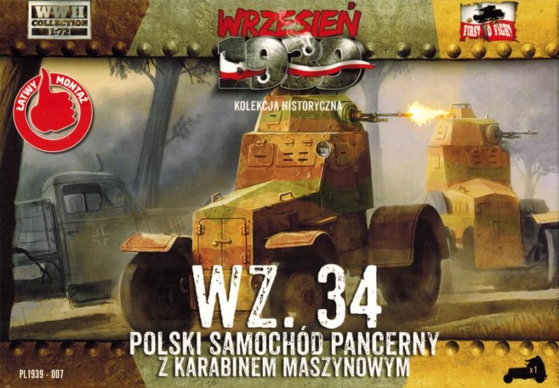 Польский бронеавтомобиль WZ.34 First To Fight 007