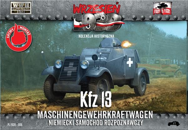 Бронеавтомобиль Kfz 13 First To Fight 006