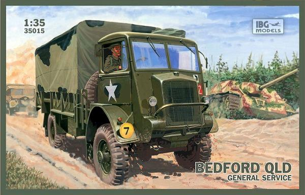 Грузовик Bedford QLD General Service IBG Models 35015