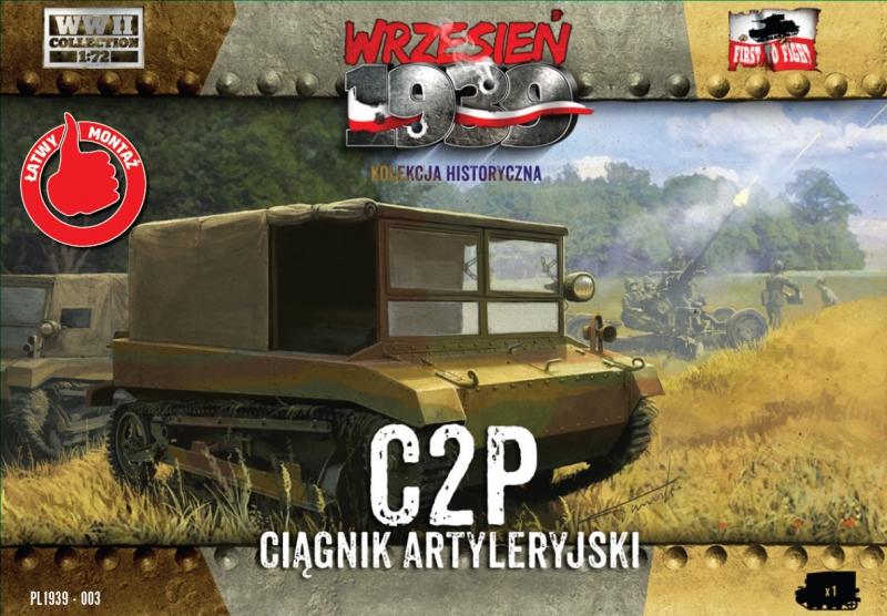 Артиллерийский гусеничный тягач C2P First To Fight 003