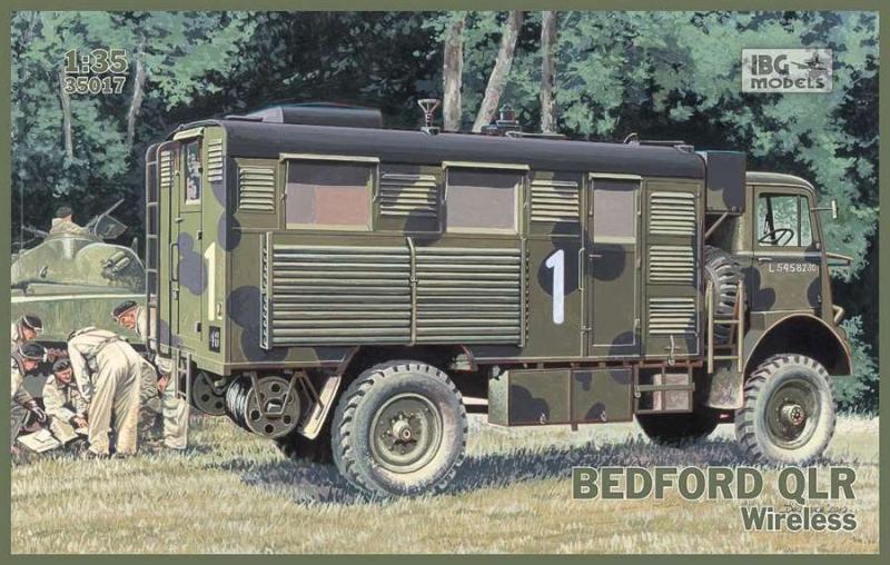 Грузовик Bedford QLR IBG Models 35017