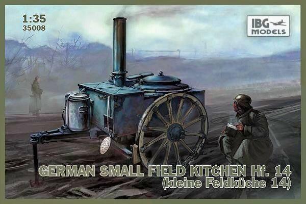 Немецкая небольшая полевая кухня Hf.14 IBG Models 35008