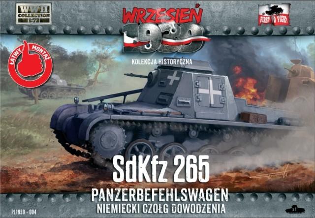 Германская бронированная командно-штабная машина SdKfz 265 Panzerbefehlswagen First To Fight 004