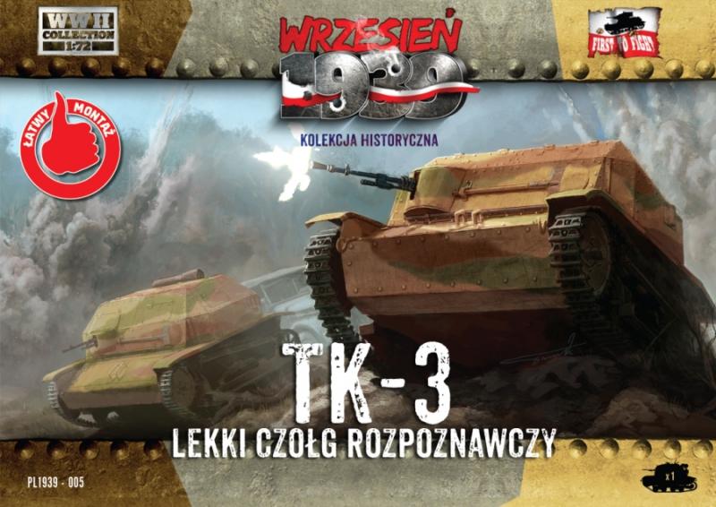 Разведывательная танкетка ТК-3 First To Fight 005