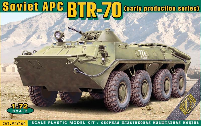 БТР-70 раннего выпуска Ace 72164