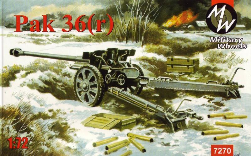76-мм противотанковая пушка Pak-36(r) Military Wheels 7270