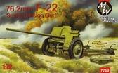 76-мм противотанковая пушка F-22